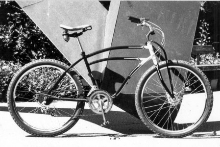 One of the early mountain bikes, circa 1976