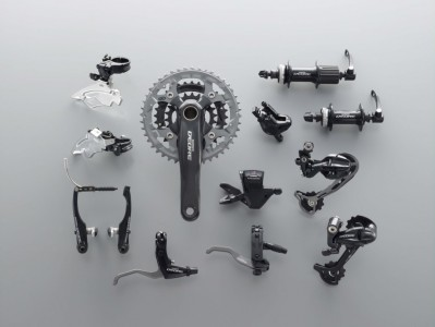 The 2010 Shimano Deore mountain bike component group