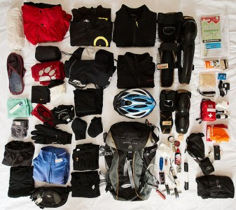 MTB packing list